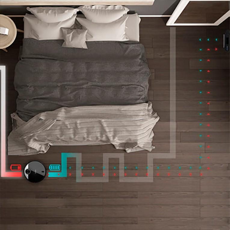 Robot Aspirador Cecotec Conga 3690 Absolute 64 dB 2700 Pa WIFI Preto