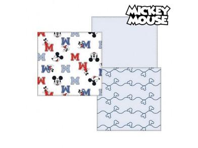 Musselina Mickey Mouse 75380 Azul (Pack de 3)