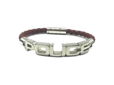Bracelete masculino Police PO-001