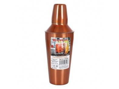 Coqueteleira Quttin Exquisite 750 ml Bronze