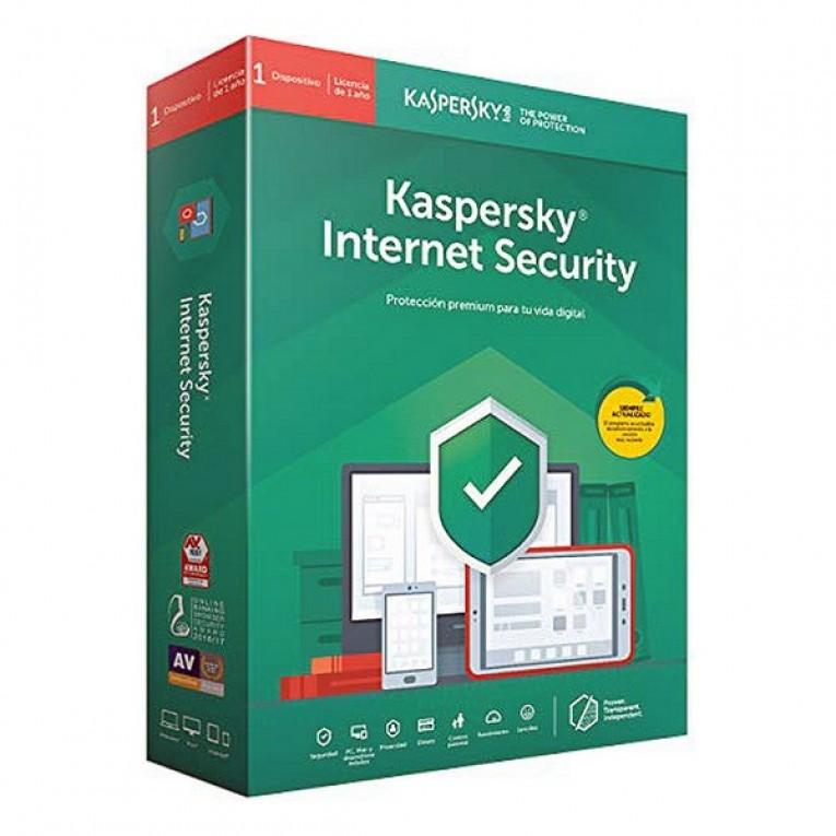 Antivíus Uso Pessoal Kaspersky Internet Security MD 2020 (3 Dispositivos)