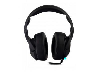 Auriculares com microfone para Vídeojogos CoolBox DG-AUR-02PRO Preto