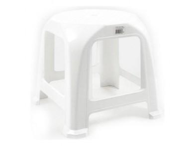 Banqueta Step Plástico Branco (34 X 34 x 31 cm)