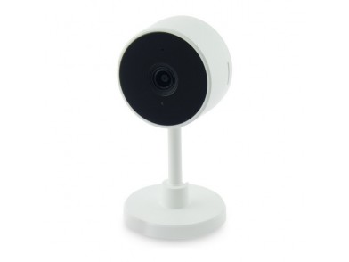 Câmara IP KSIX Smart Home 2 MP 130º 128 GB WiFi Branco