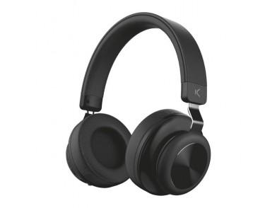Auriculares Bluetooth com microfone 200 mAh Preto