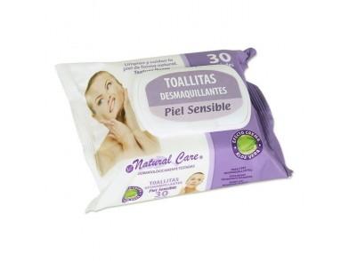 Toalhinhas Desmaquilhantes Natural Care (30 uds)