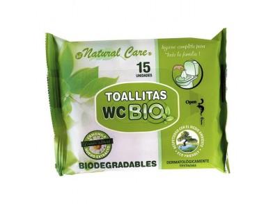 Toalhitas Biodegradáveis Wc (15 uds)