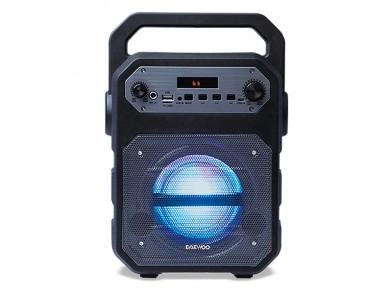 Altifalante Bluetooth Portátil Daewoo DSK-345B LED 15W Preto