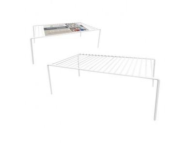 Organizador para o Armário de Cozinha Confortime Metal Branco (41,9 x 21 x 14,9 cm)