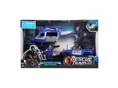 Conjunto Equipa de Resgate Junior Knows 6101 (4 pcs)