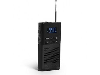 Rádio Transistor SCHNEIDER PICCOLO AM/FM LED Preto