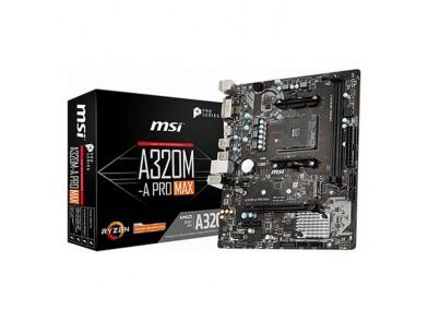 Placa Mãe MSI A320M-A Pro Max mATX DDR4 AM4