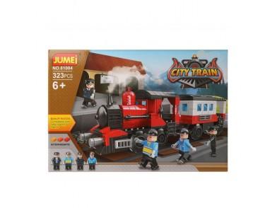 Jogo de Construção + Figuras City Train 119832 (323 pcs)