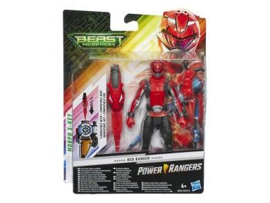 Power Rangers Beast Morphers Red Hasbro (15 cm)