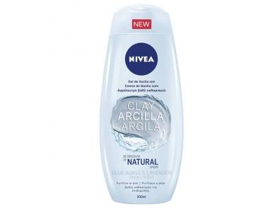 Gel de duche Arcilla Blue Agave & Lavender Nivea (500 ml)