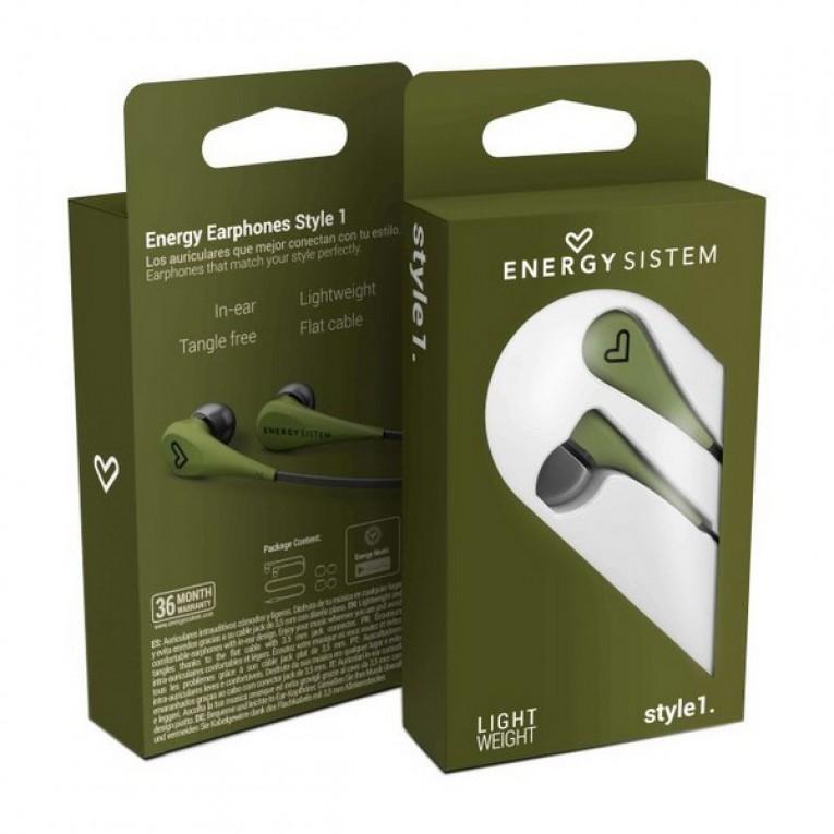 Auriculares de botão Energy Sistem 3.5 mm (1,2 m)