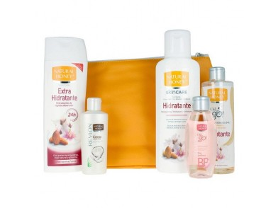 Conjunto de Cosmética Unissexo Natural Honey (5 pcs)