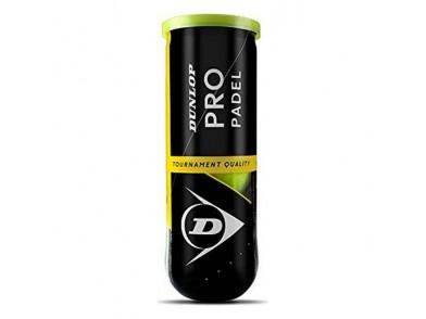 Bolas de Padel Dunlop Tb Pro (3 pcs)