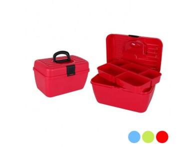 Caixa de Ferramentas com Compartimentos (29 x 19 x 18 cm)