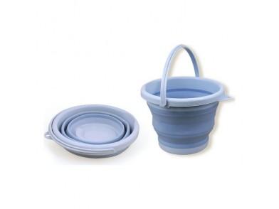 Kubus 5 L Plástico Dobrável Azul