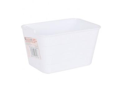 Organizador Multiusos Jano Flexível Branco (13,5 x 9 x 7,5 cm)