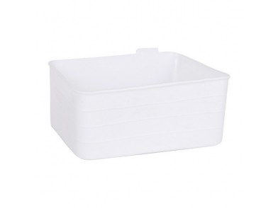 Organizador Multiusos Jano Flexível Branco (18 X 13,5 x 7,5 cm)