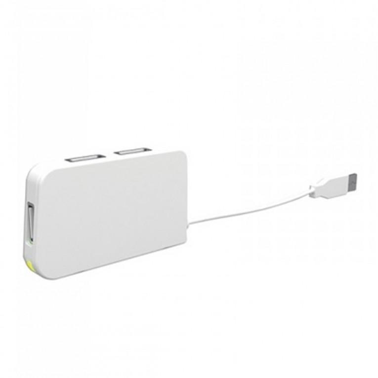Hub USB 4 Portas approx! APPHT4W USB 2.0 Branco