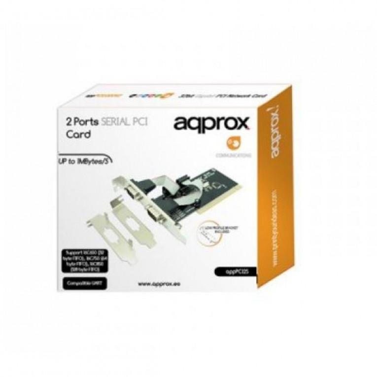 Placa PCI approx! APPPCI2S LP&HP 2 Paralelos