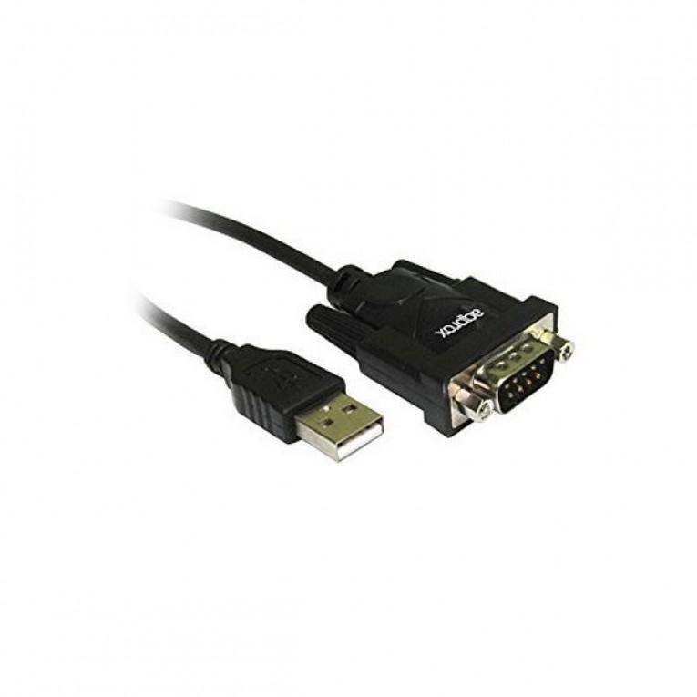 Cabo USB para Porto Série approx! APPC27 DB9M 0,75 m RS-232