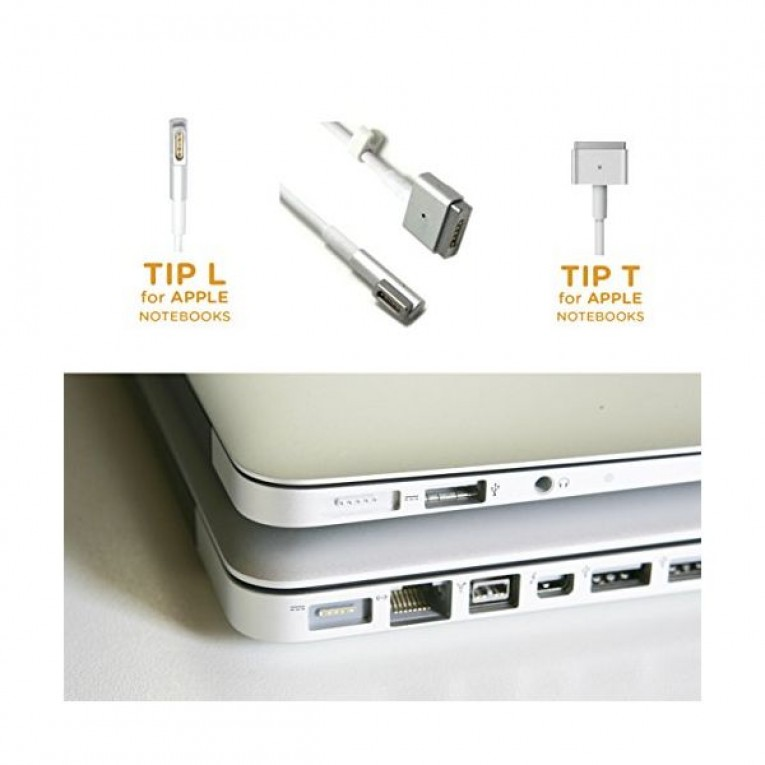 Carregador para Portátil approx! AAOACR0193 APPUAAPT Apple Typ T