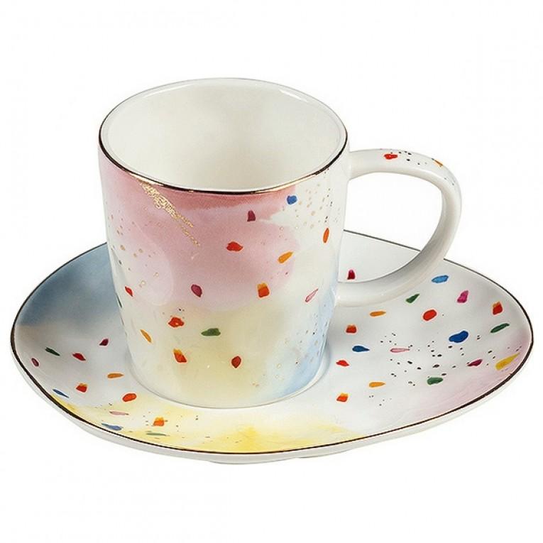 Chávena com Prato Colors