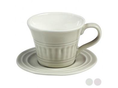 Chávena com Prato Porcelana (15 X 10 x 12 cm)