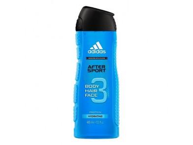 Gel de duche After Sport Adidas (400 ml)