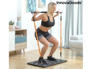 Sistema de Treino Integral Portátil com Guia de Exercícios Gympak Max InnovaGoods