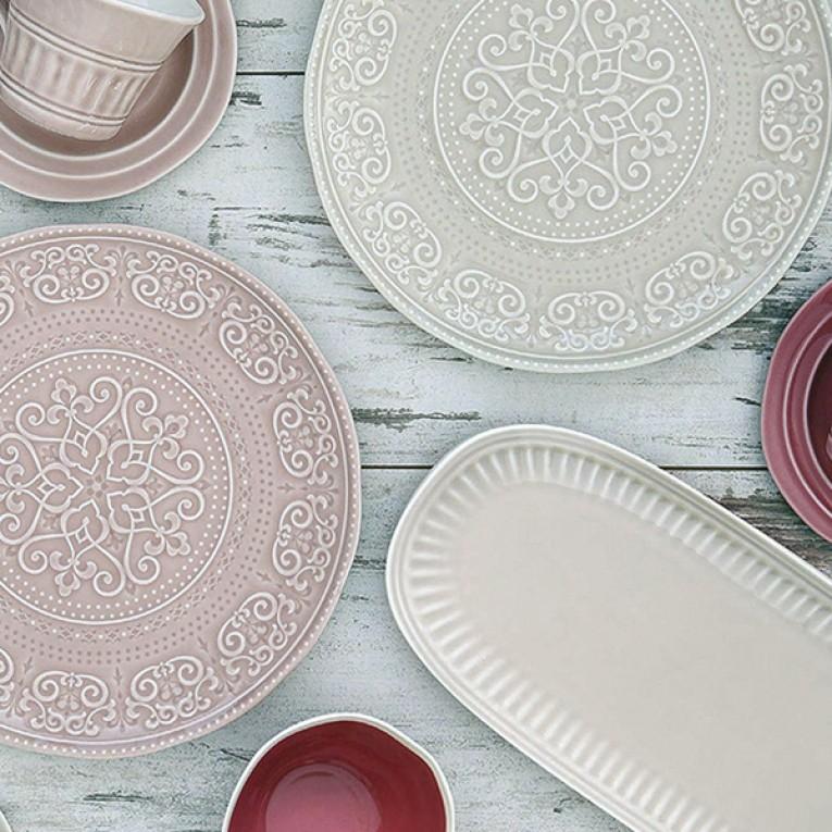 Recipiente de Cozinha Porcelana (38 x 16 x 2 cm) Porcelana