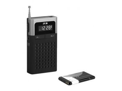 Rádio Transistor SPC Icy Pro 4583N AM/FM 800 mAh Preto