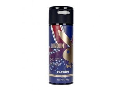 Desodorizante em Spray London Playboy (150 ml)