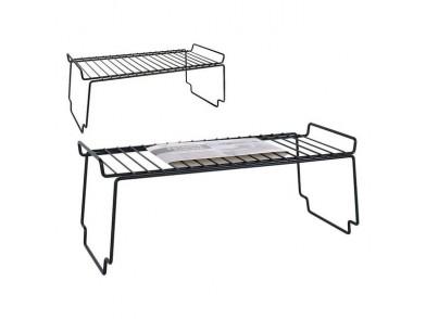 Organizador para o Armário de Cozinha Confortime Metal Preto (28,5 x 20 x 12 cm)