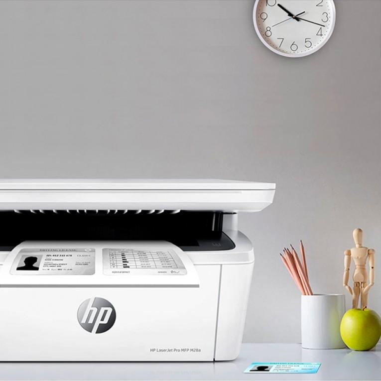 Impressora multifunções HP LaserJet Pro MFP M28a 32 MB