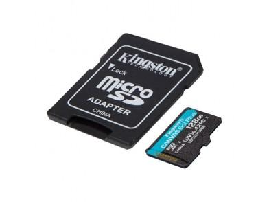 Cartão de Memória Micro SD com Adaptador Kingston SDCG3 Preto