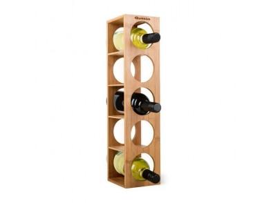 Suporte para garrafas Quttin Bambu