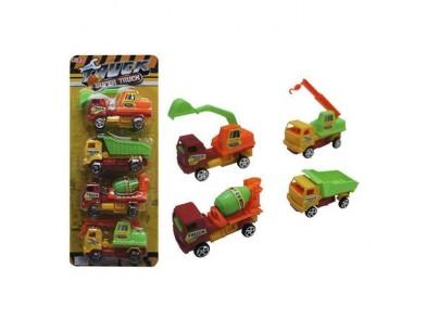 Veículos de Construção Super Truck (4 pcs)