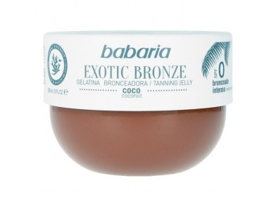 Gelatina Bronzeadora Coco Exotic Babaria (200 ml)