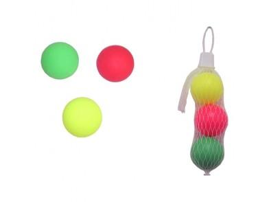 Bolas para Raquetas de Praia (3 uds)