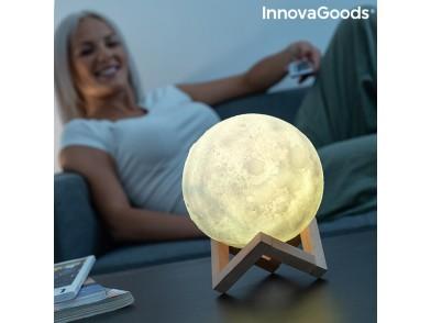 Lâmpada LED Recarregável Lua Moondy InnovaGoods