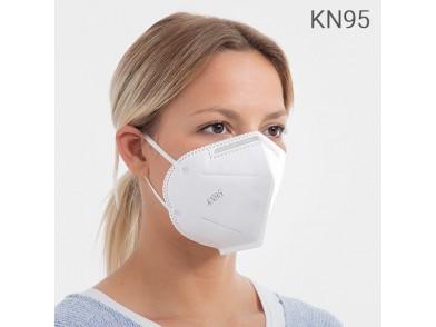 Máscara Autofiltrante com 5 Camadas KN95 (1 Ud)