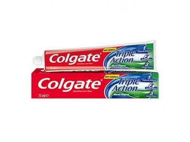 Pasta de dentes Triple Accion Original Mint Colgate (75 ml)