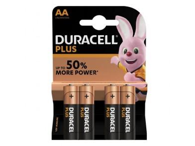 Pilhas Plus Power Lr06 DURACELL (4 uds)