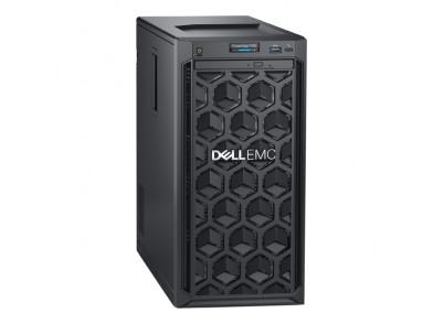 Servidor Torre Dell PowerEdge T140 Xeon® E-2124 8 GB RAM 1 TB LAN Preto