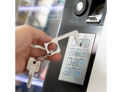 Porta-Chaves de Abertura Higiénica Multiusos Security